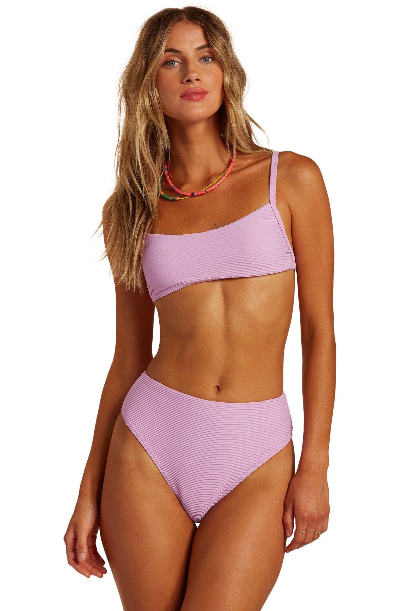 Bikini Tanga Billabong TANLINES H MAUI SURFADELIC Lit Up Lilac