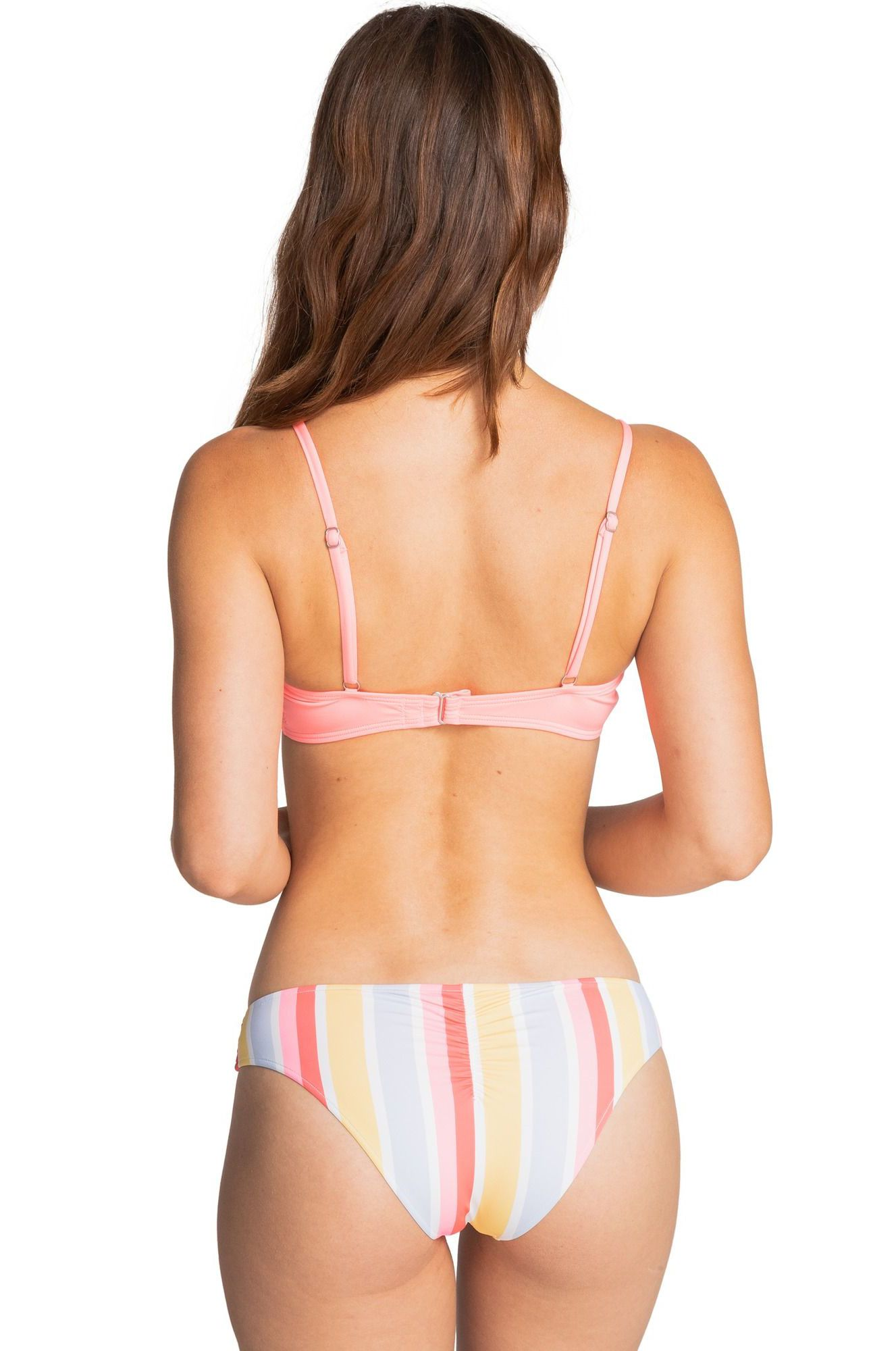 Bikini Top Billabong S.S KNOTTED TRILET SOL SEARCHER Acid Pink
