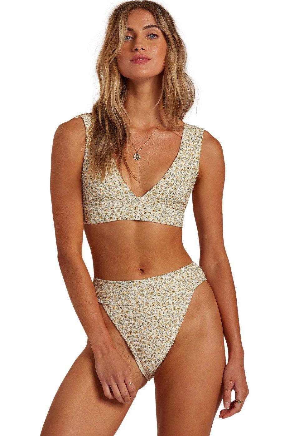 Bikini Top Billabong SUMMER LOVE PLUNGE Cool Wip