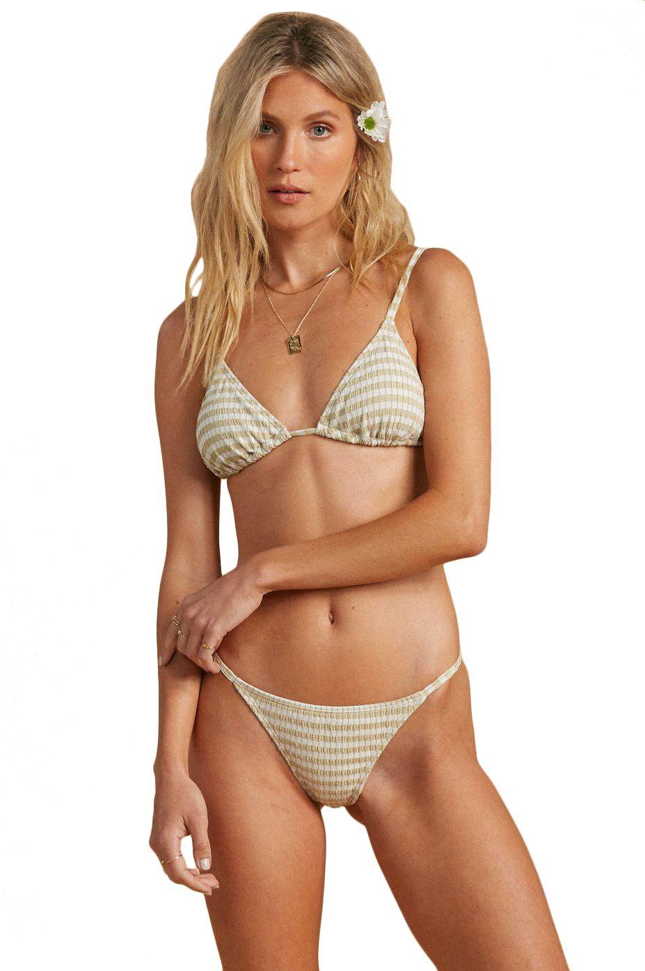Bikini Tanga Billabong MEET YOUR MATCHA ISL SALTY BLONDE Matcha