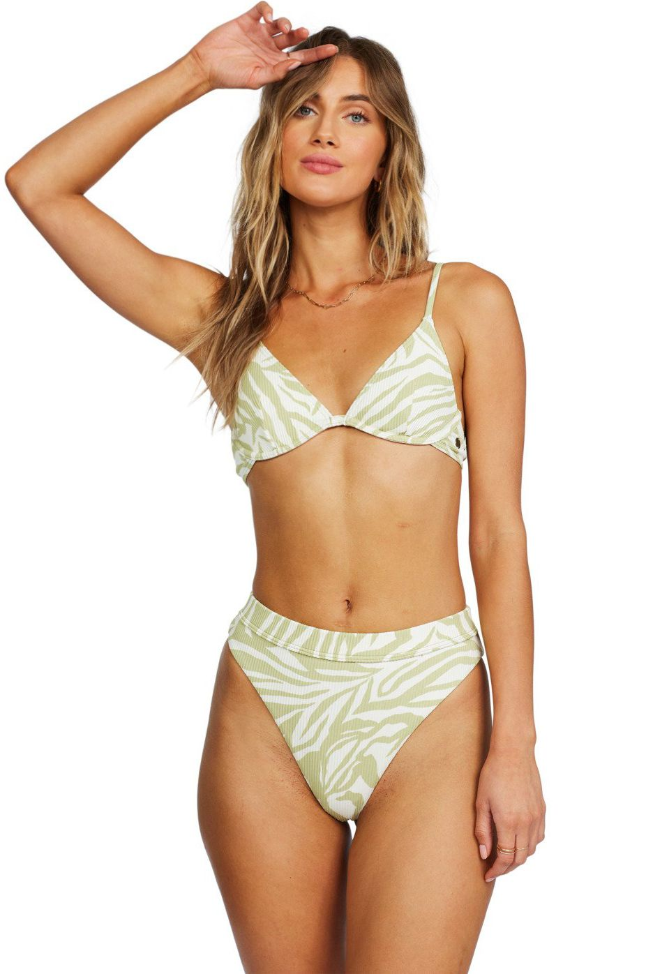 Bikini Tanga Billabong JUNGLE TOWN HIGH MAY Cactus