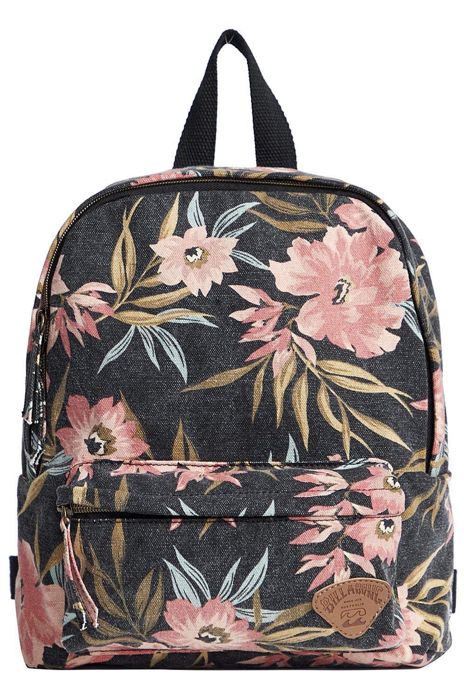 Billabong Backpack MINI MAMA LOST PARADISE Black/Pink