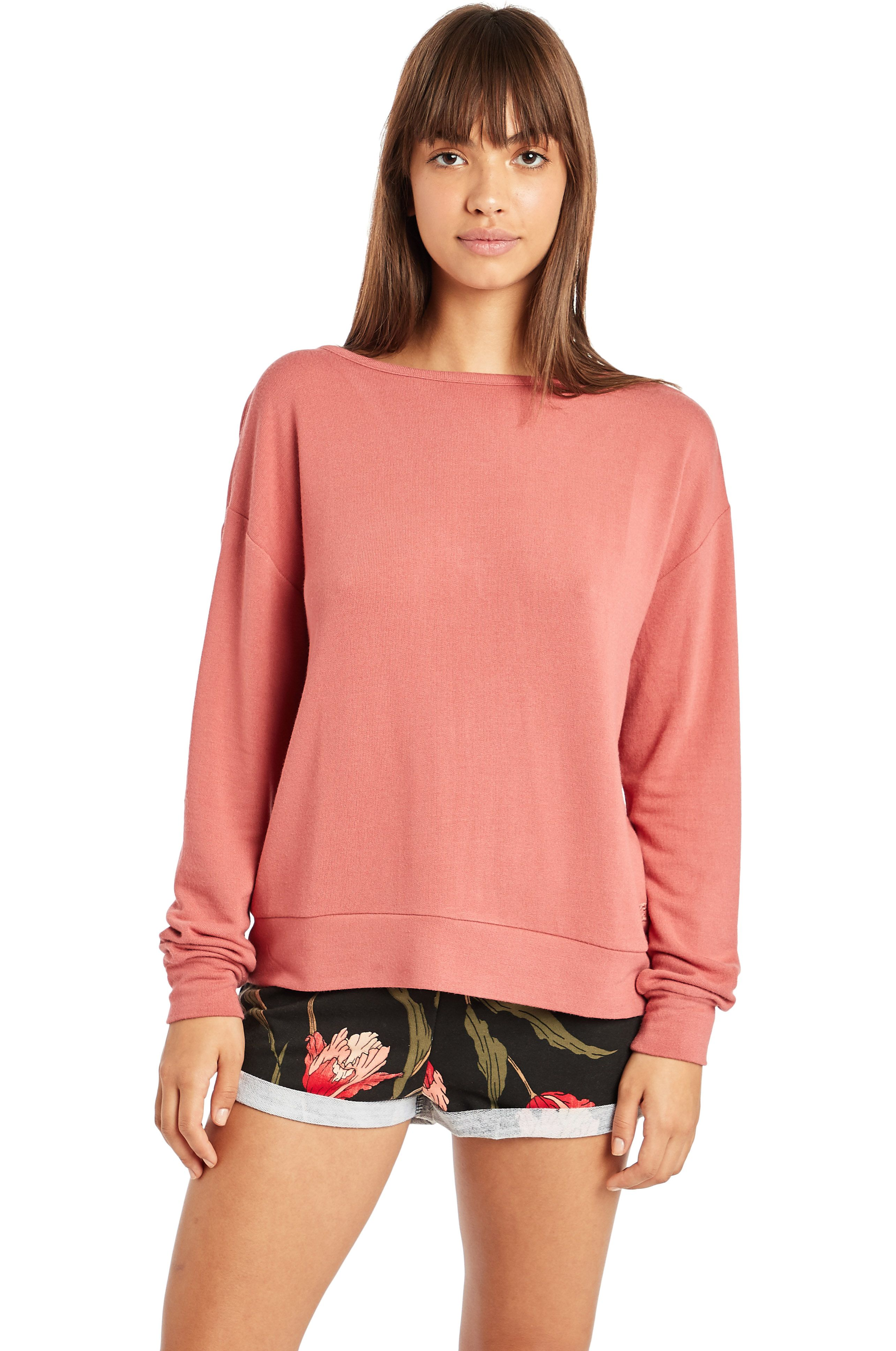 Sweat Basica Billabong WINDWARD BOUND PARADISE COVE Red Clay