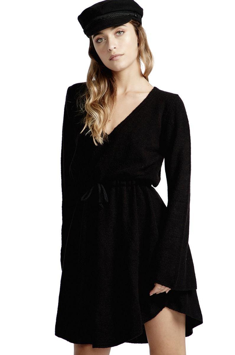 Vestido Billabong CRAZY LIFE Black
