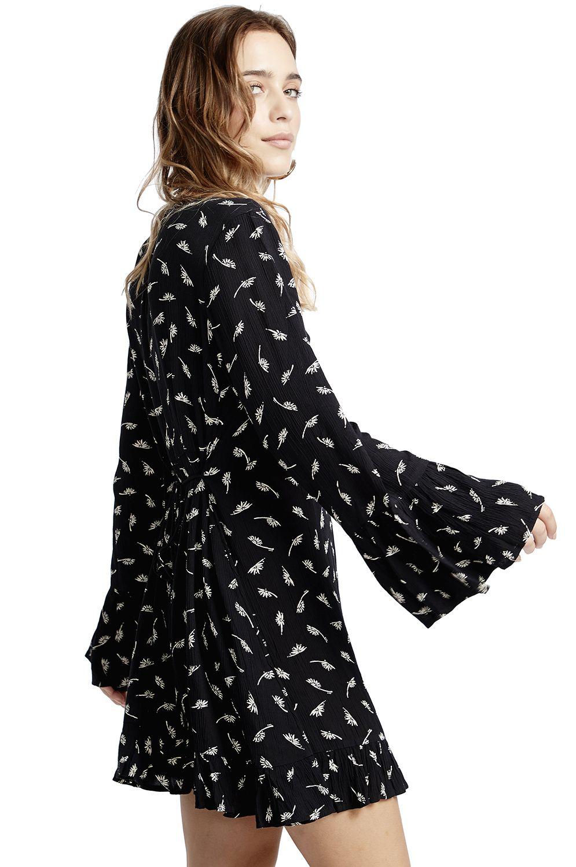 Vestido Billabong TODAYS END Black