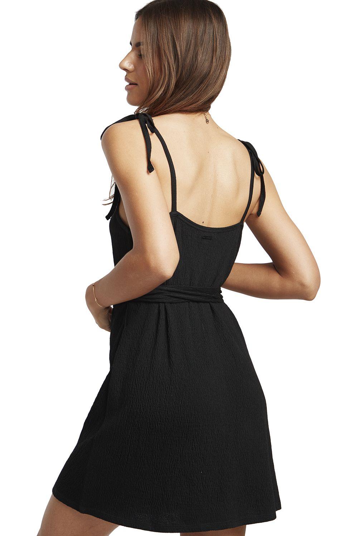 Vestido Billabong GOING STEADY SPORTING GOOD PROGR. Black