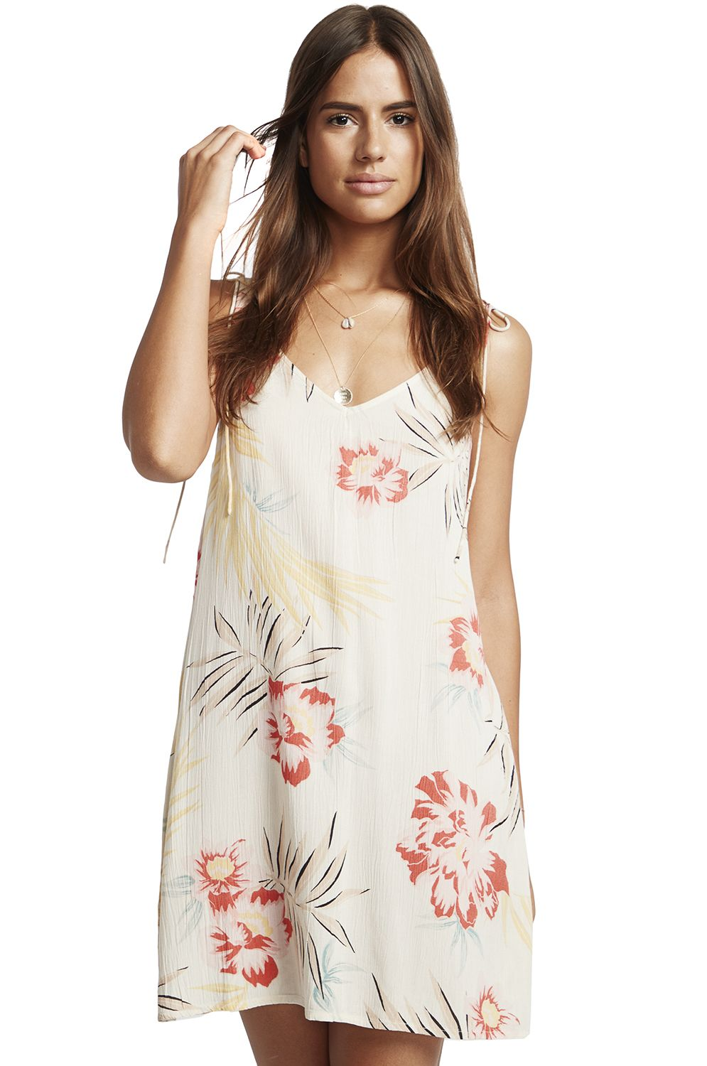Vestido Billabong HIGH TIED LET THE GOOD TIMES Whisper