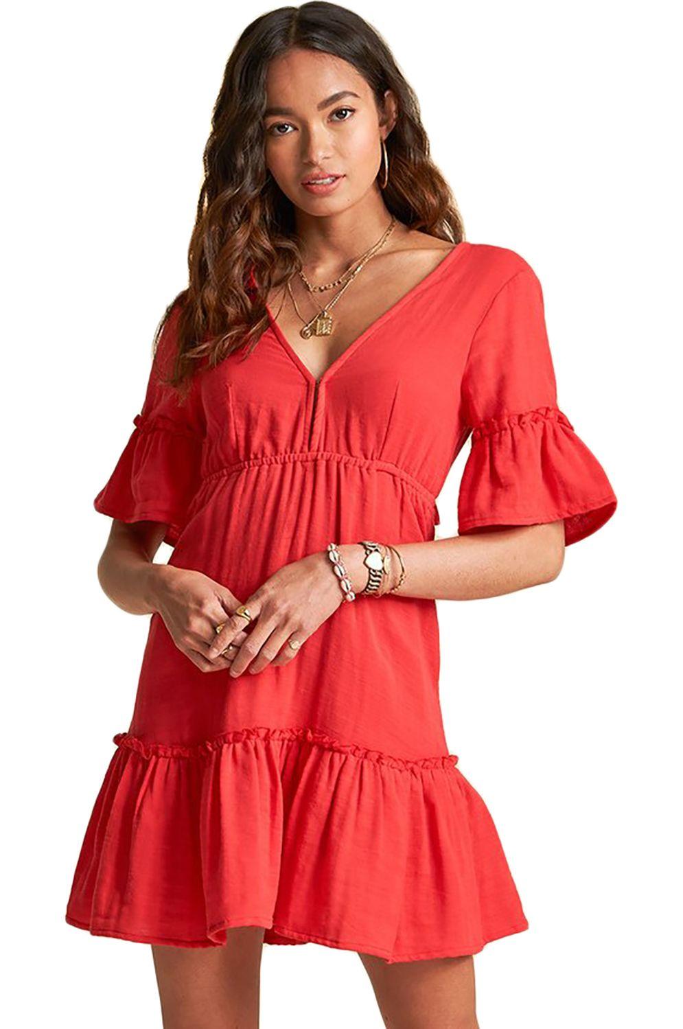 Vestido Billabong LOVERS WISH SINCERELY JULES Rio Red