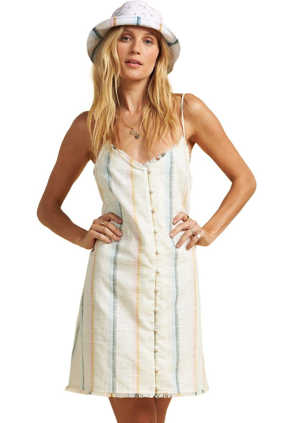 Billabong Dress SUNNY STRIPES SALTY BLONDE Multi