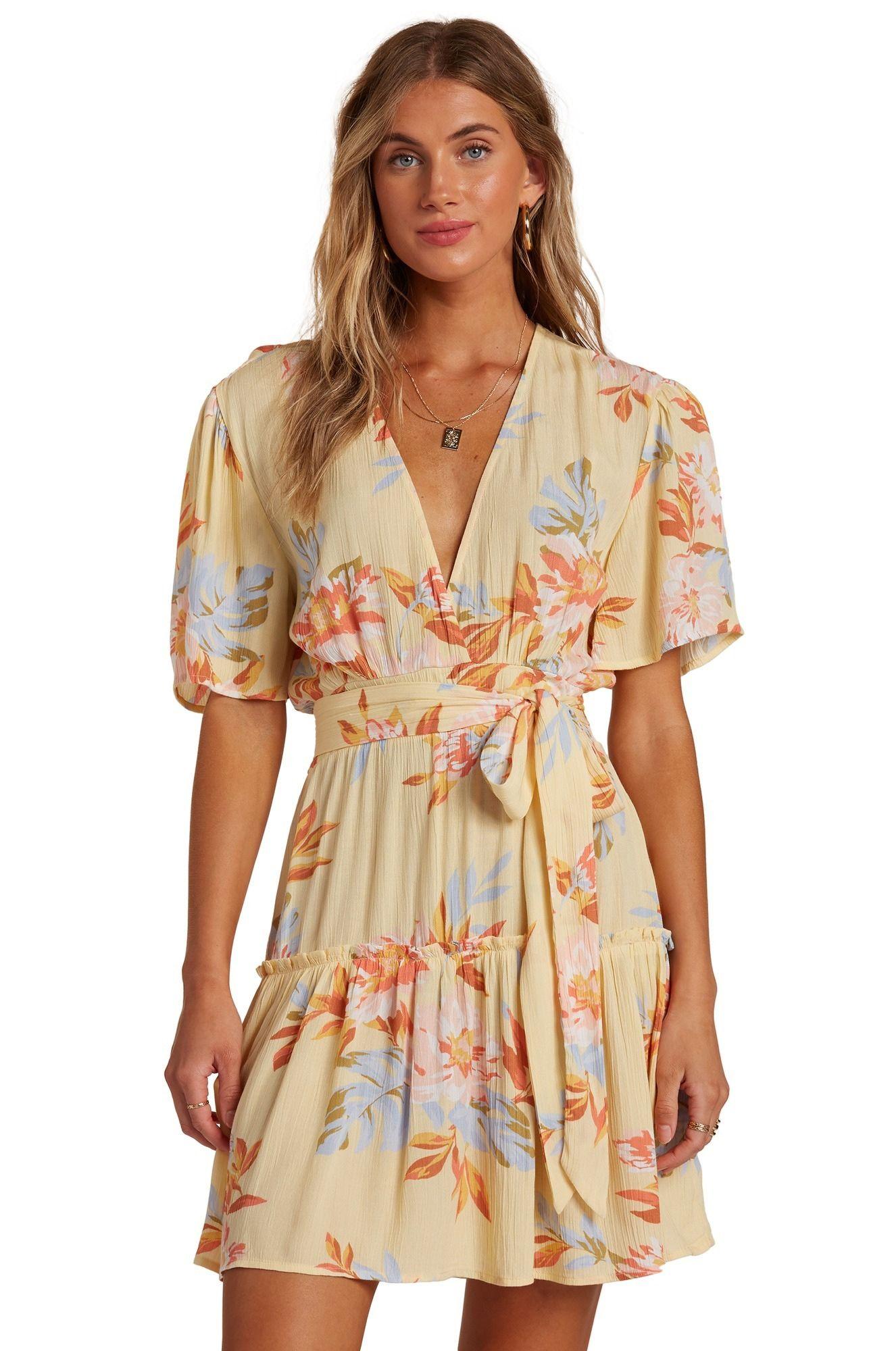 Vestido Billabong ONE AND ONLY FOLLOW THE SUN Mimosa