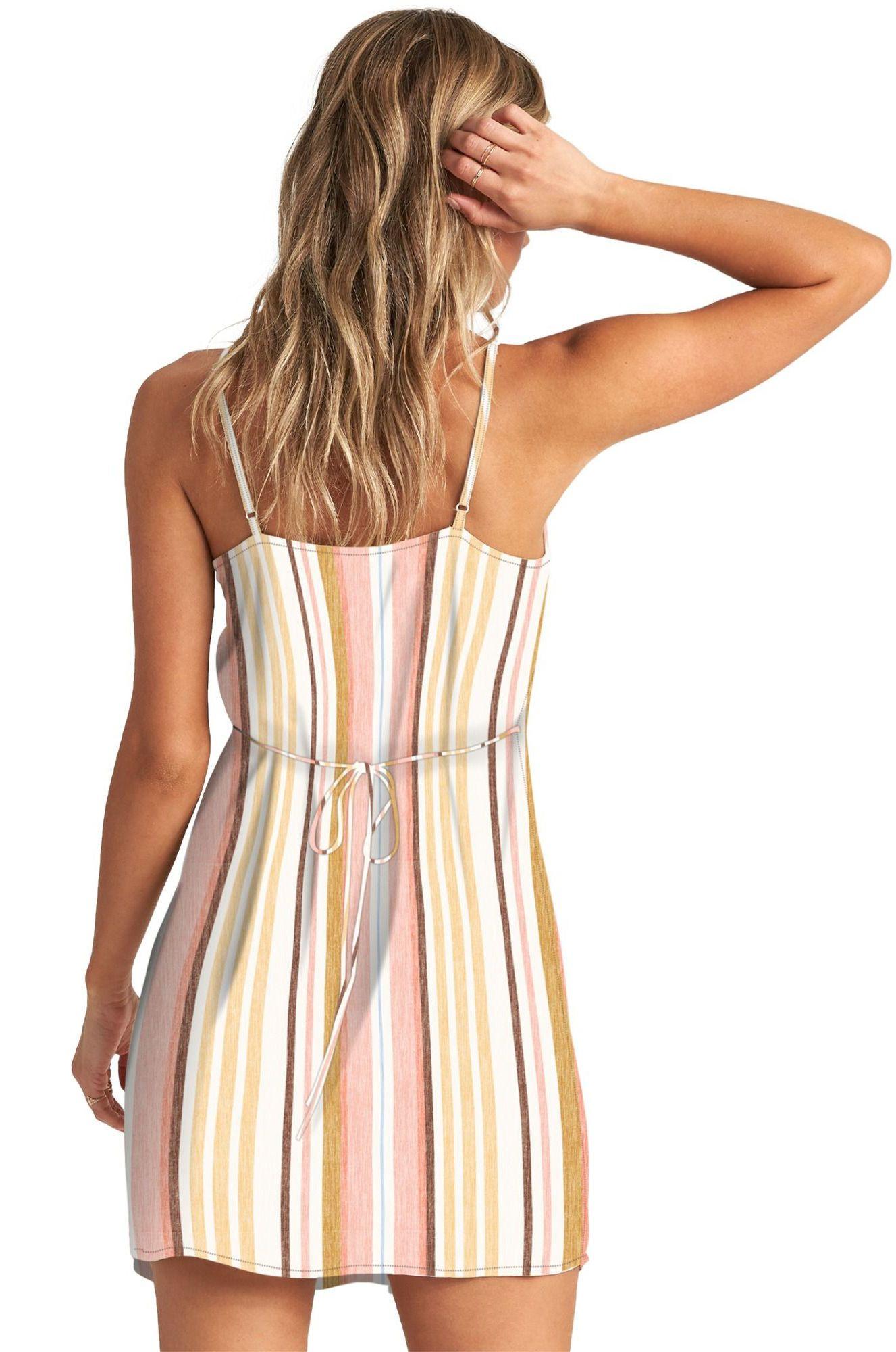 Vestido Billabong SWEET FOR YA FOLLOW THE SUN Multi