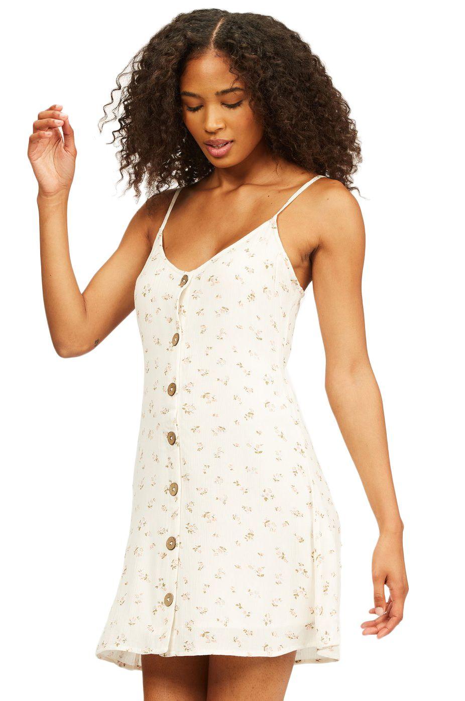 Vestido Billabong SWEET FOR YA FOLLOW THE SUN Salt Crystal