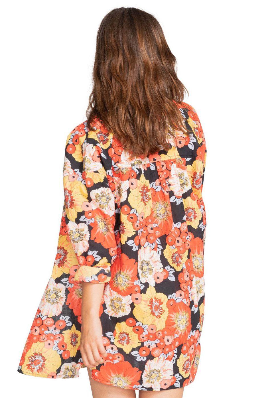 Vestido Billabong AFTER BEACH Flowers