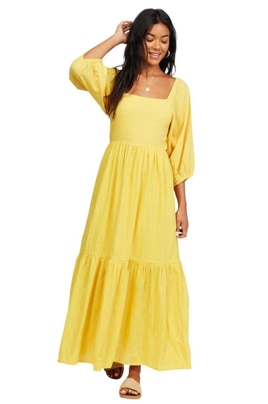Vestido Billabong DREAM CHASER Sunflower