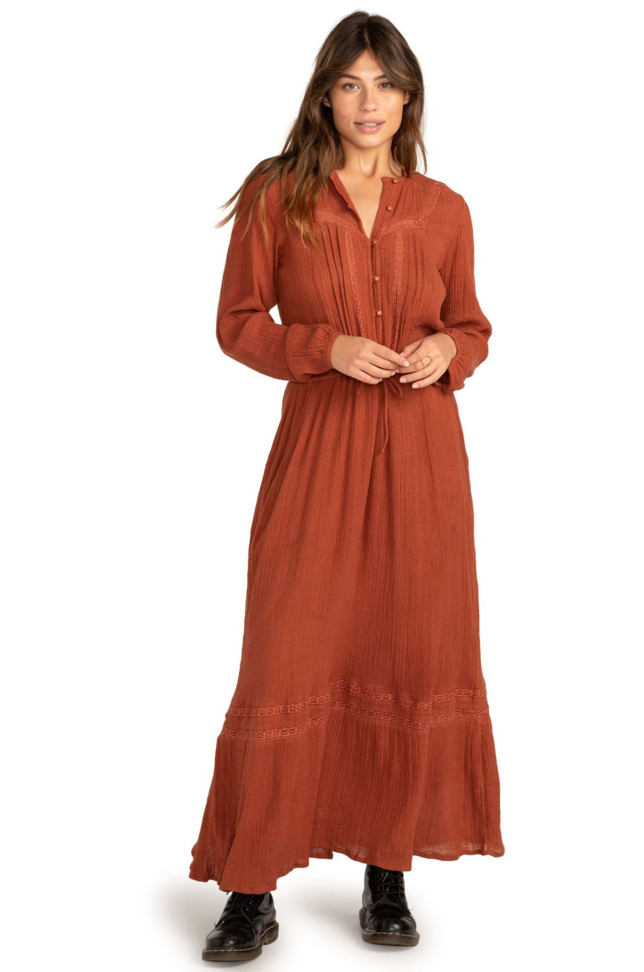 Billabong Dress GREAT DAY COASTAL LOVE LETTERS Bronze