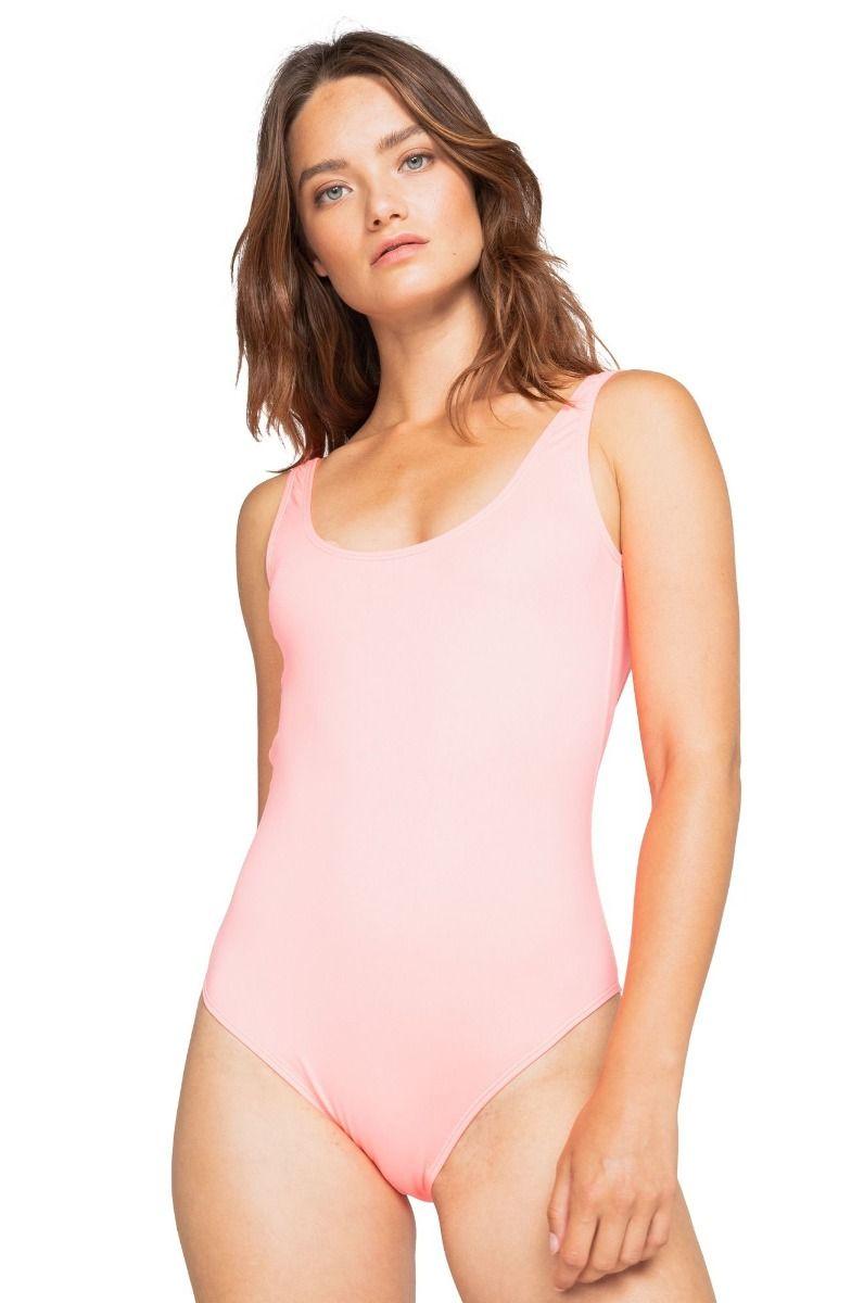 Billabong Swimsuit S.S TANKER 1 PC SOL SEARCHER Acid Pink