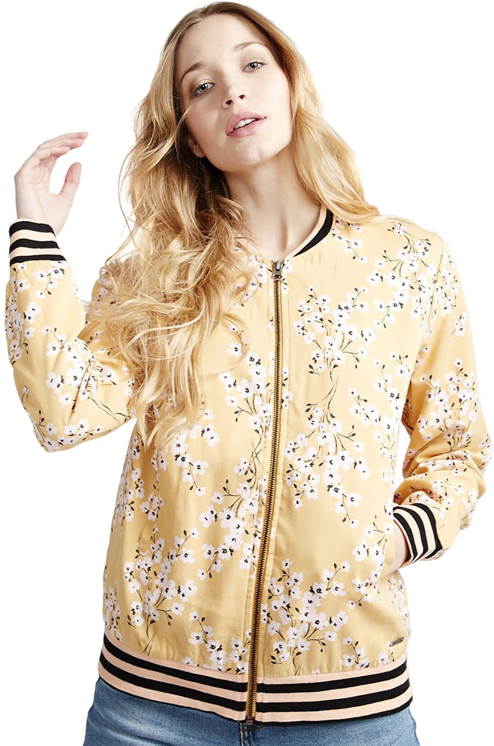 Billabong Jacket RETRO BLOOM SEEKERS OF THE SUN Golden Hour