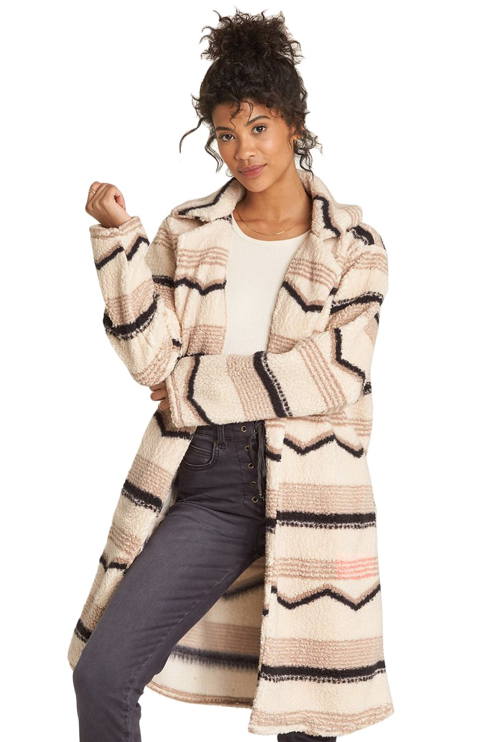 Billabong Coat MONTREAL LONGLINE Neutral