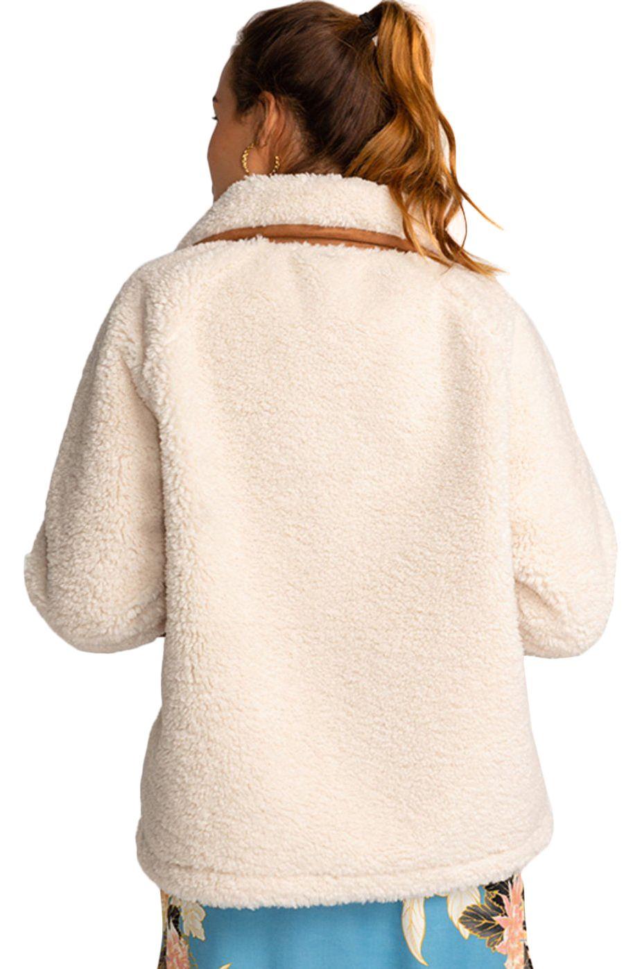 Blusão Billabong GREAT ESCAPE White Cap