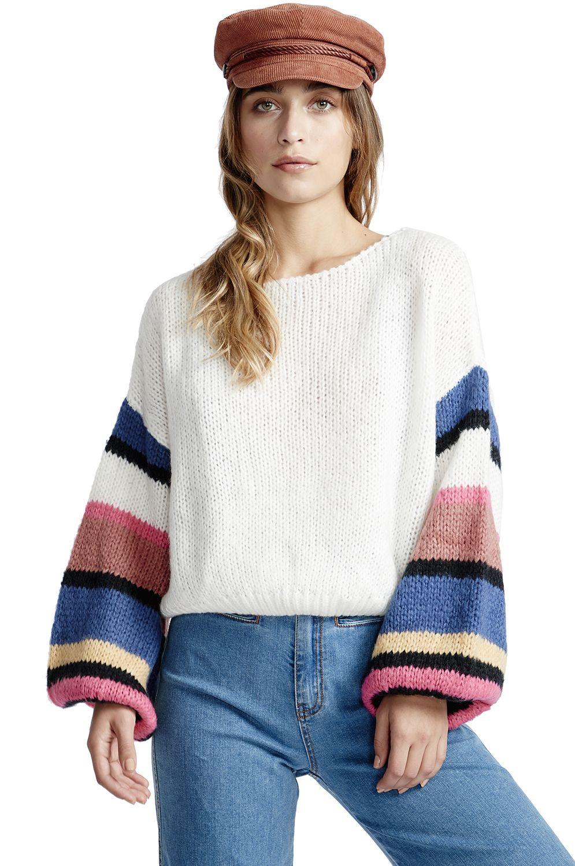 Billabong Sweater LIGHT BREEZE Cloud