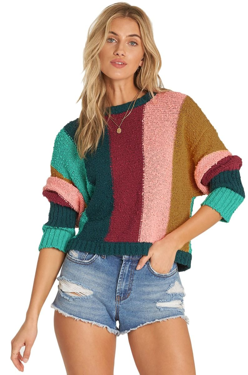 Billabong Sweater EASY GOING Deep Jade