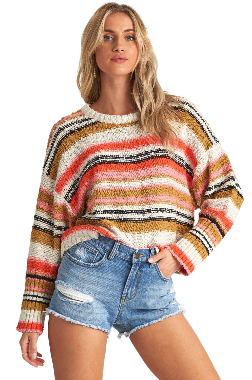 Billabong Sweater EASY GOING BEACH BAZAAR Samba