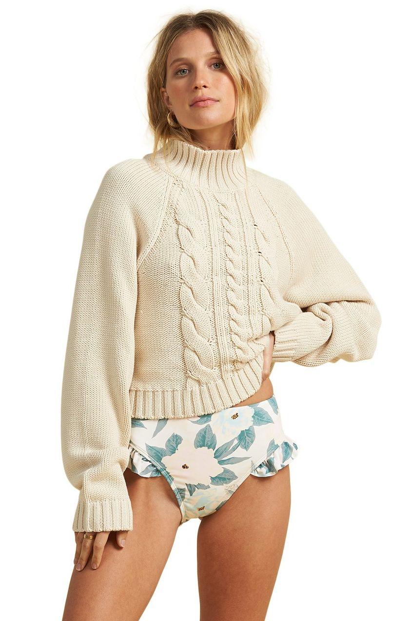 Billabong Sweater SALTY DAYS SALTY BLONDE White Cap