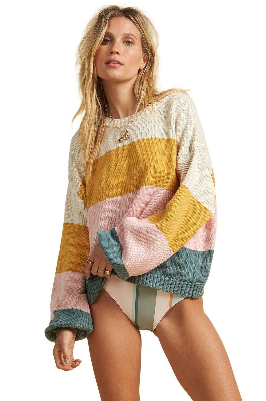Billabong Sweater DAY DRIFTER SALTY BLONDE Bright Gold