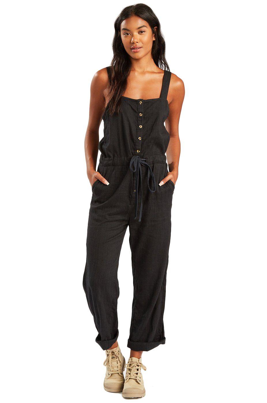 Billabong Jumpsuit SANDY SHORES A DAY DREAM AWAY Black