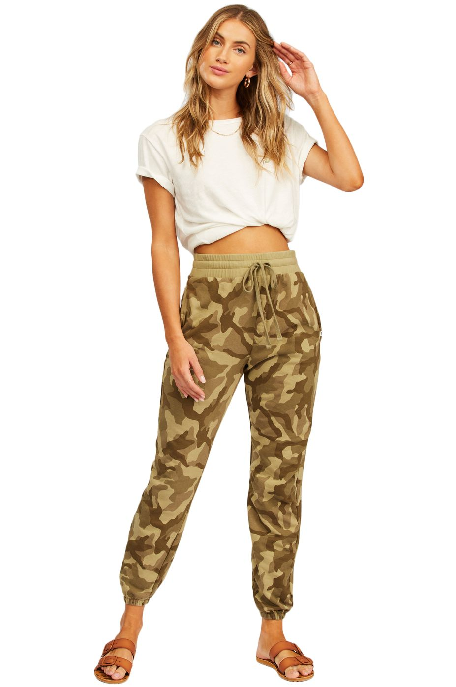 Billabong Pants CASUAL COAST PRINT COASTAL LOVE LETTERS Trooper