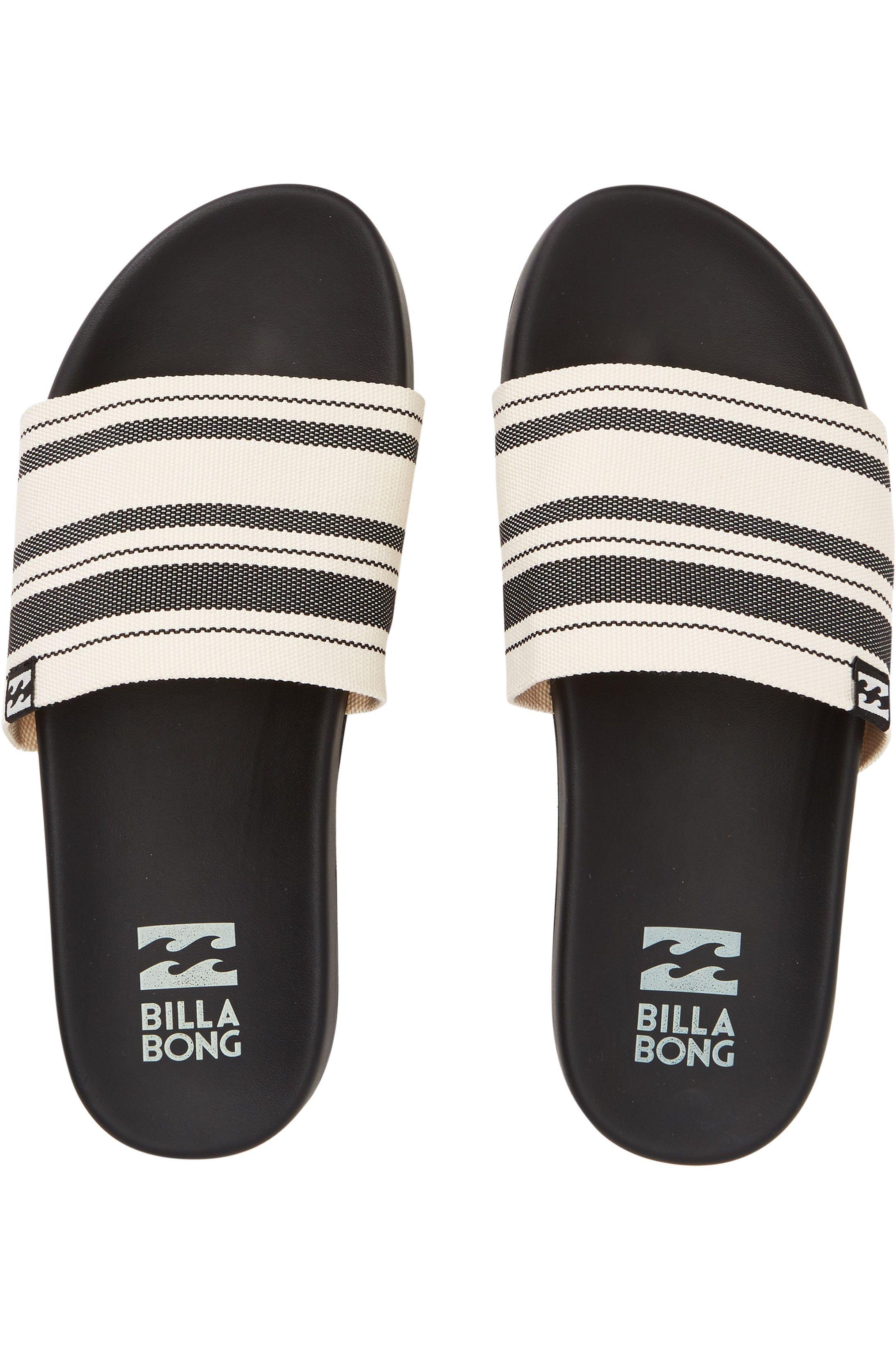 Chinelos Billabong SURF RETREAT PARADISE COVE Black White