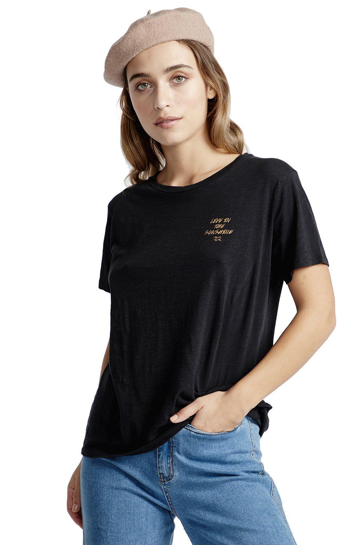 T-Shirt Billabong LIVE IN THE SUNSHINE Black