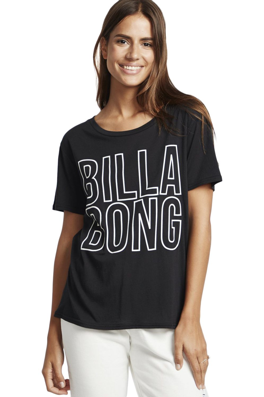 Billabong T-Shirt LEGACY BOYFRIEND LEGACY PACK Black