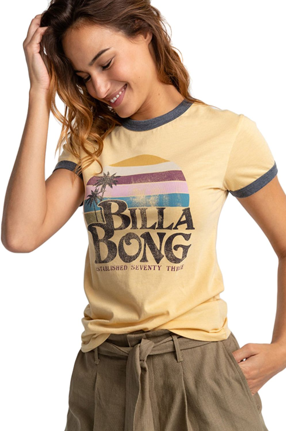Billabong T-Shirt SUNRISER Pale Yellow