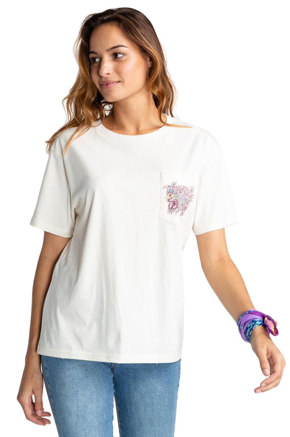 Billabong T-Shirt FLORAL SOURCE Cool Wip