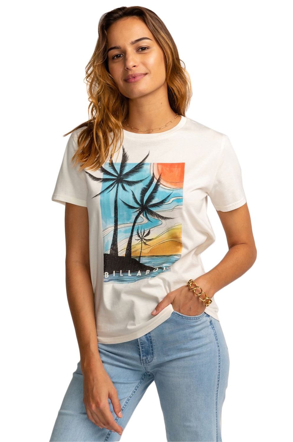 Billabong T-Shirt ISLA PALMA Cool Wip