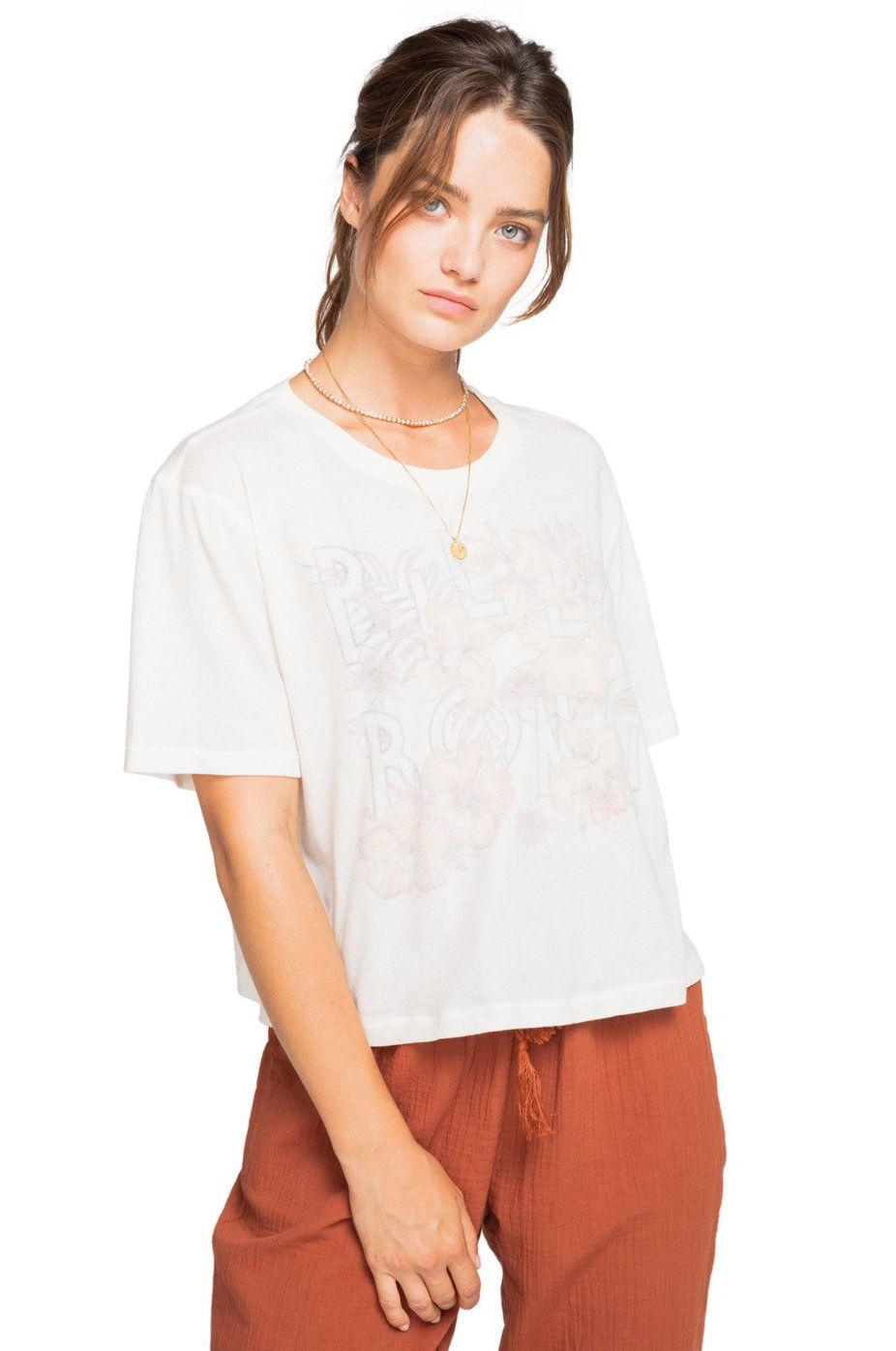 T-Shirt Billabong SPRING FELLOW FOLLOW THE SUN Salt Crystal