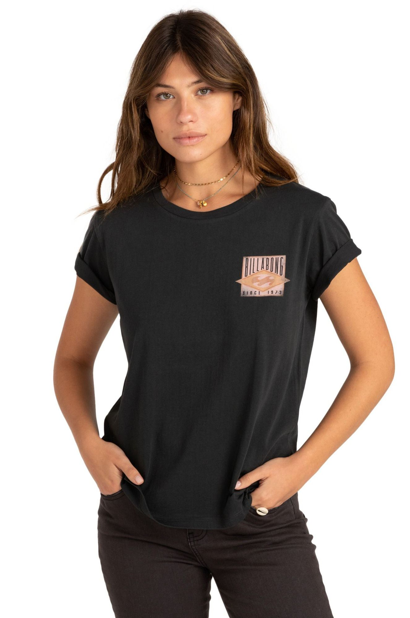 Billabong T-Shirt DIAMOND LEGACY Off Black