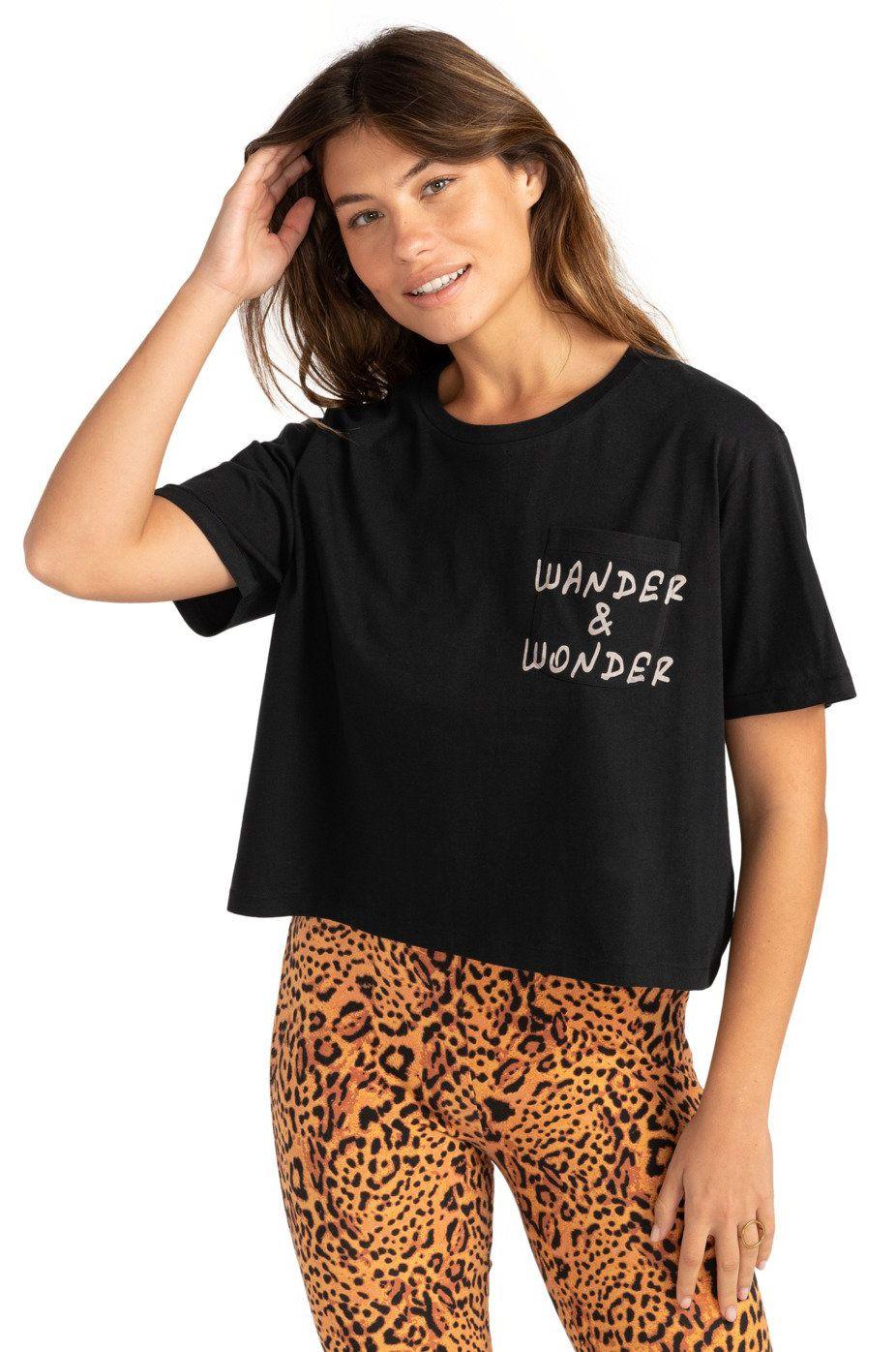 Billabong T-Shirt WANDER AND WONDER Black