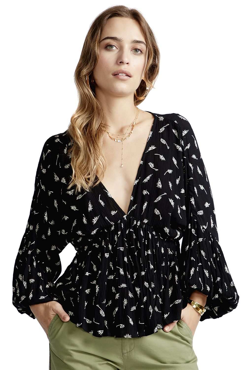 Billabong Top WISPERING THOUGHTS Black