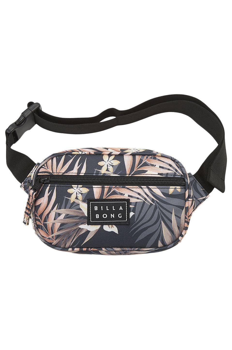 Billabong Waist Bag DON'T STOP Black/Army