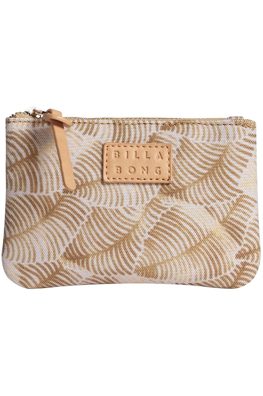 Billabong Wallet PLANET PALM SMALL CASE BEACH BAZAAR Black