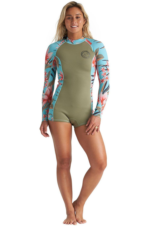 Billabong Wetsuit SPRING FEVER SURF CAPSULE Aloe