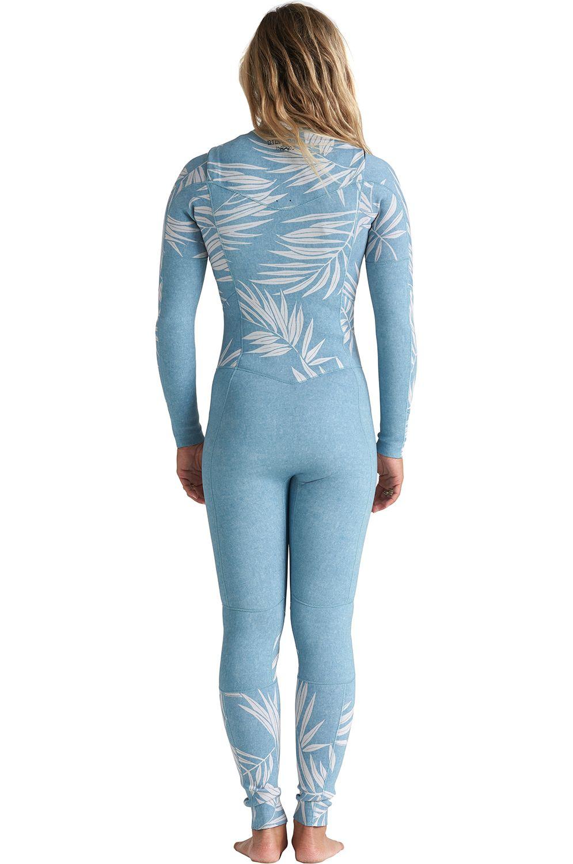 Fato Neoprene Billabong SALTY DAYZ FULL 302 SURF CAPSULE Blue Palms
