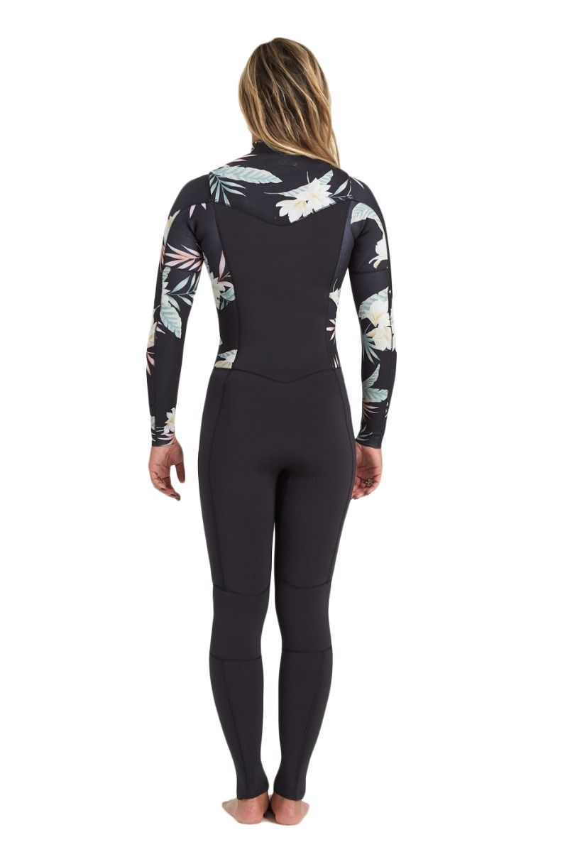 Fato Neoprene Billabong 403 SALTY DAYZ FULL SURF CAPSULE Black Pebble