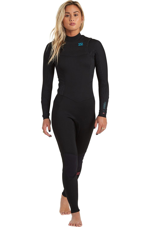 Billabong Wetsuit 403 SYNERGY CZ GBS Black