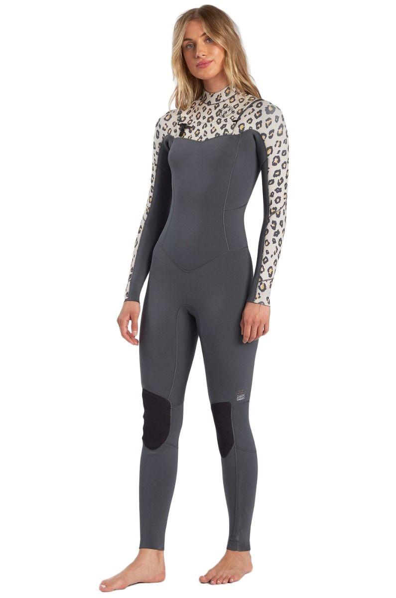 Billabong Wetsuit 403 SALTY DAYZ FULL SURF CAPSULE Leopard