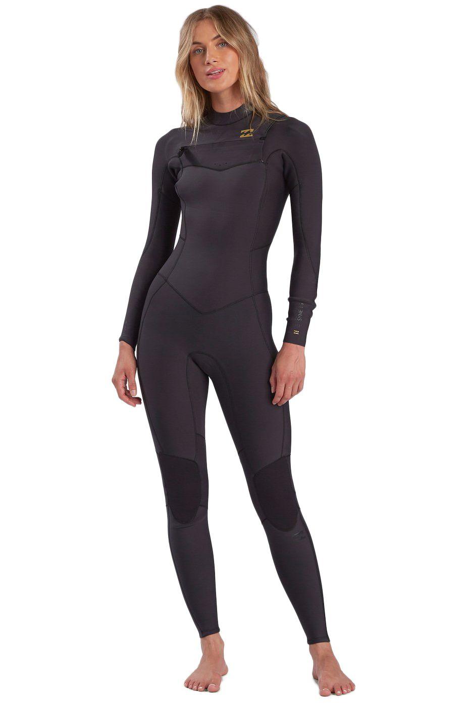 Billabong Wetsuit 403 SYNERGY CZ GBS F Black Tropic