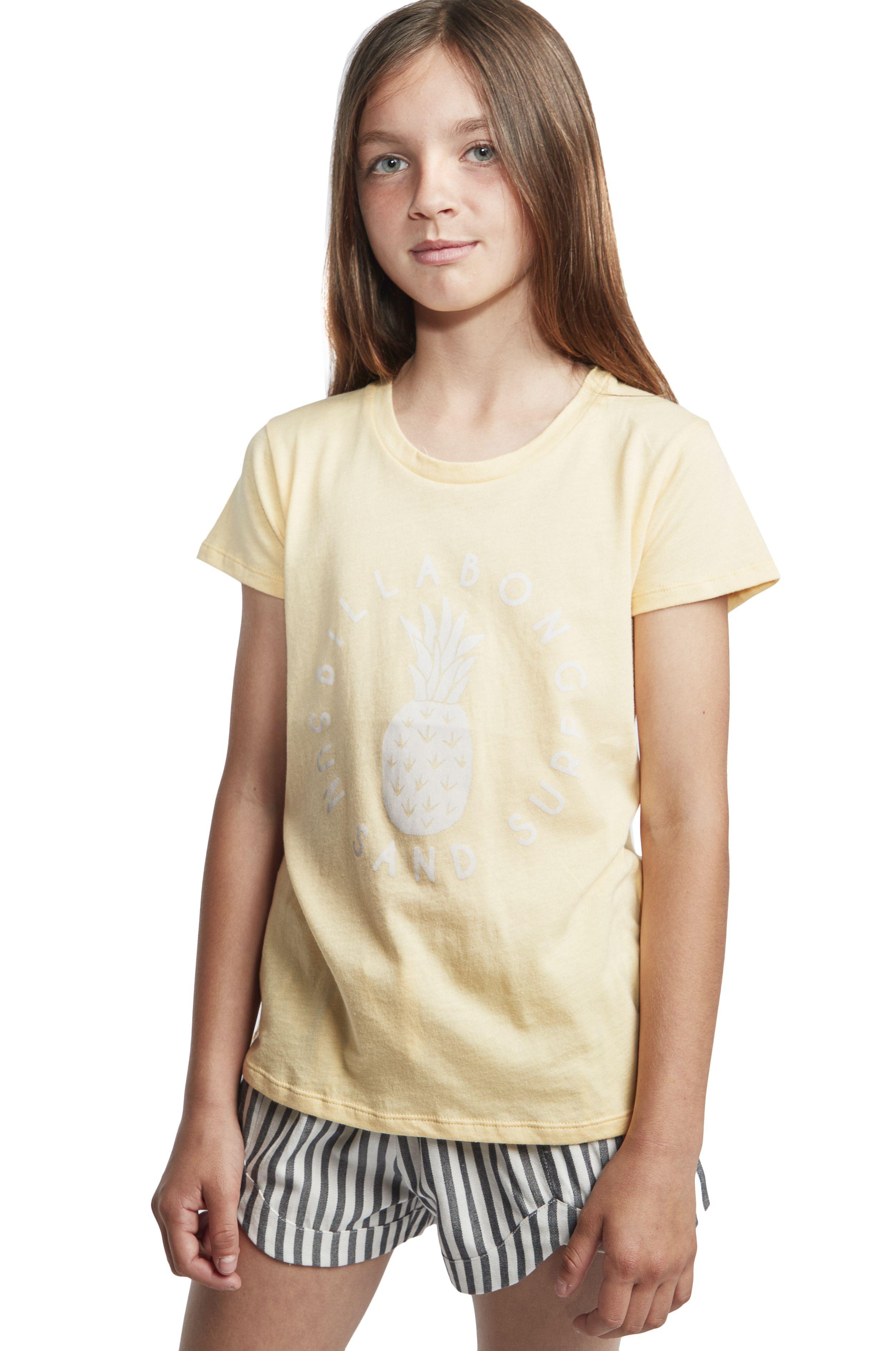 T-Shirt Billabong SAND AND SURF Canary Yellow