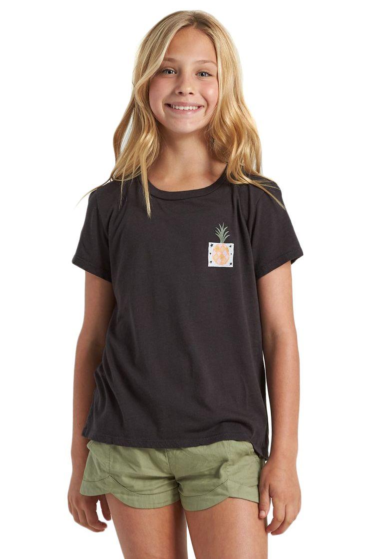 T-Shirt Billabong MODERNIST PINEAPPLE Black
